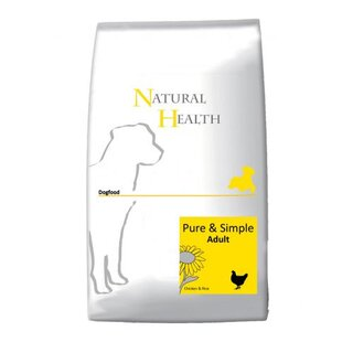 Natural Health Canavit Chicken & Rice Adult - 12.50 kg bag