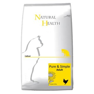 Natural Health Pure & Simple Adult Huhn & Reis - 2,5 kg