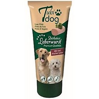 Tubi dog Liversausage - 75 g in collapsible tube