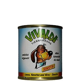 Vivaldi Sensitive Lamb, Carrots & Millet - 300 g can