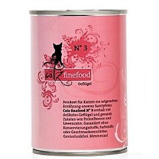 Catz finefood No 3 Poultry - 400 g can