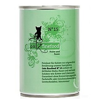 Catz finefood No 15 Chicken & Pheasant - 400 g can